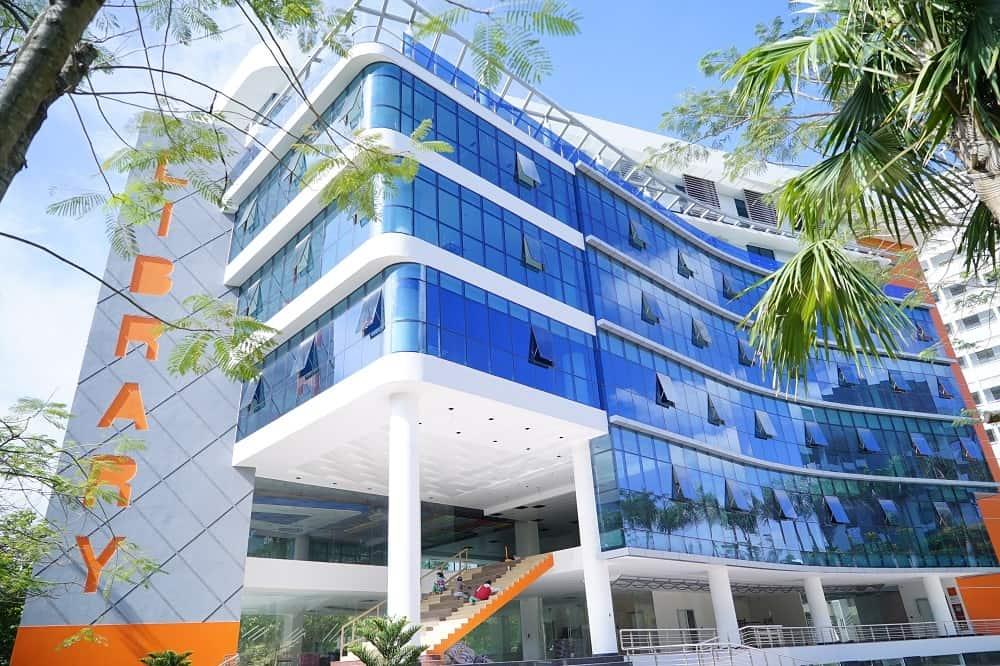 Thư viện trường Tôn Đức Thắng