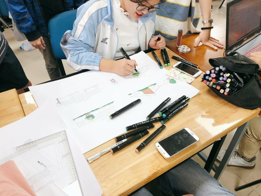 Top 5 đại học đào tạo ngành thiết kế đồ họa
