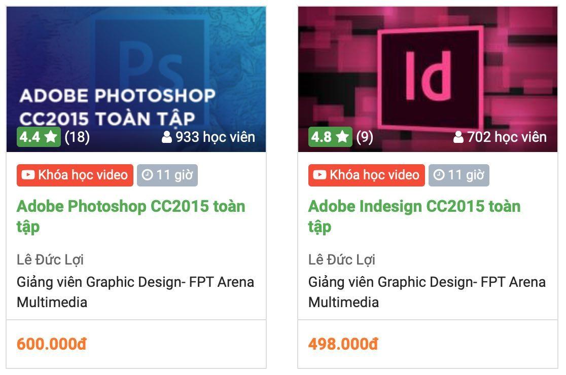 Top 5 khóa học thiết kế đồ họa online tốt nhất