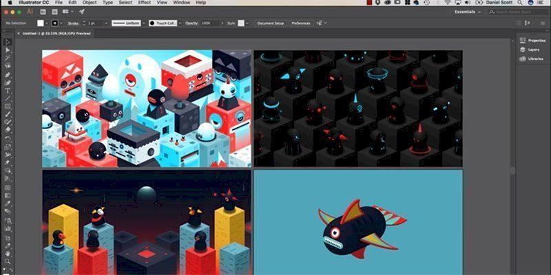 Top 8 phần mềm học thiết kế đồ họa