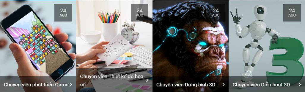 Trung tâm dạy thiết kế đồ họa VTC Academy