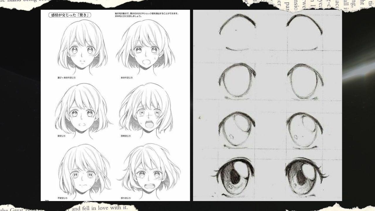 Vẽ mắt anime