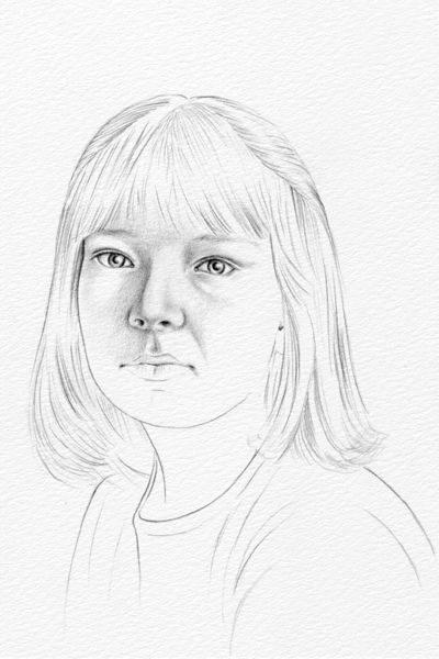 Cách vẽ chân dung nữ đơn giản