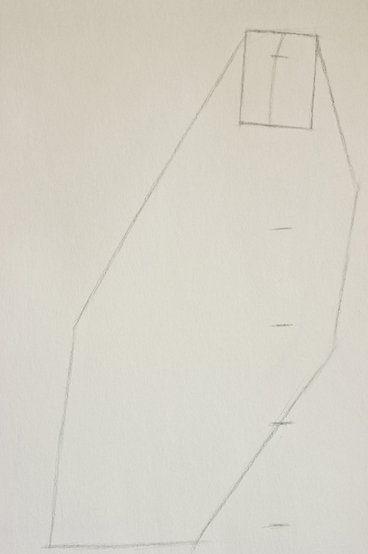 cách vẽ dáng người ngồi đơn giản