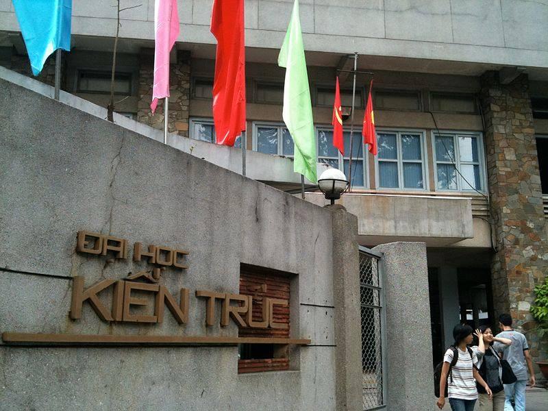 Đại học Kiến Trúc Tp. Hồ Chí Minh cơ sở 196 Pasteur