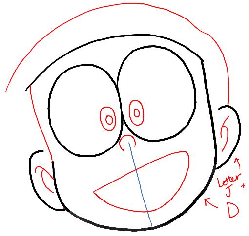 Hướng dẫn vẽ nobita