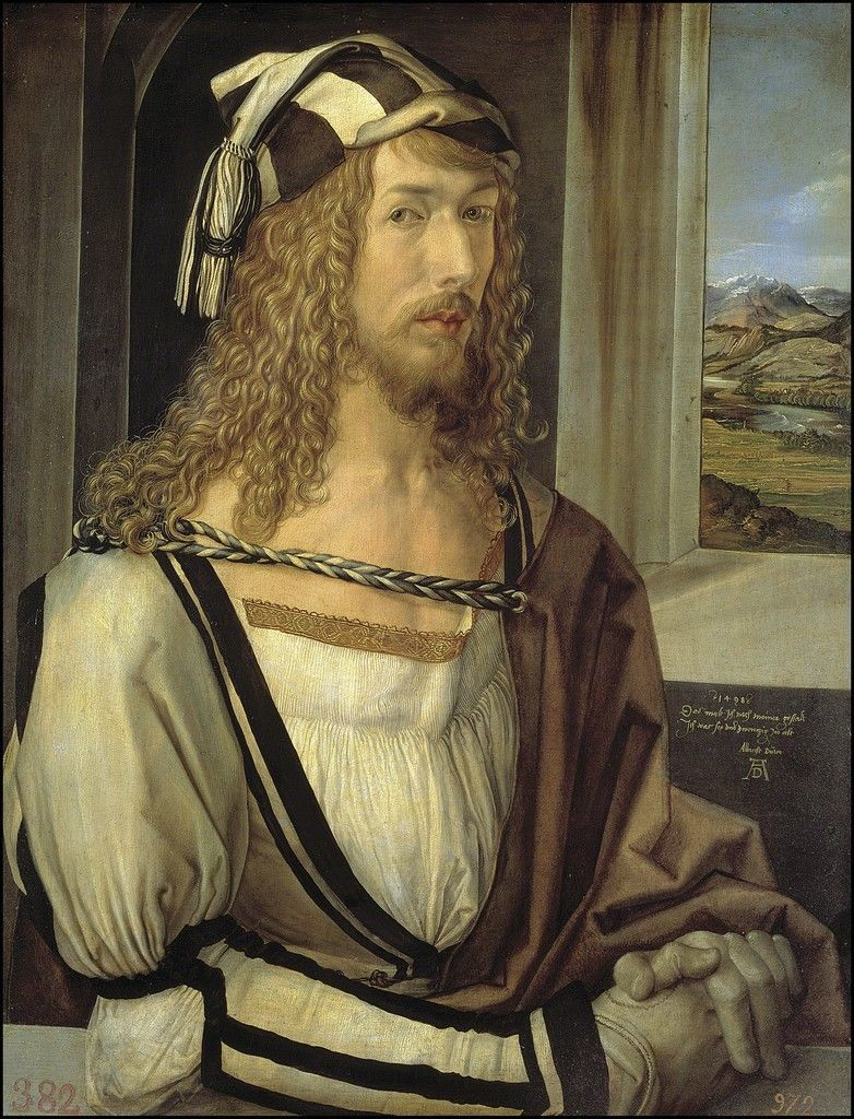 Self-Portrait, 1493 Museo Nacional del Prado