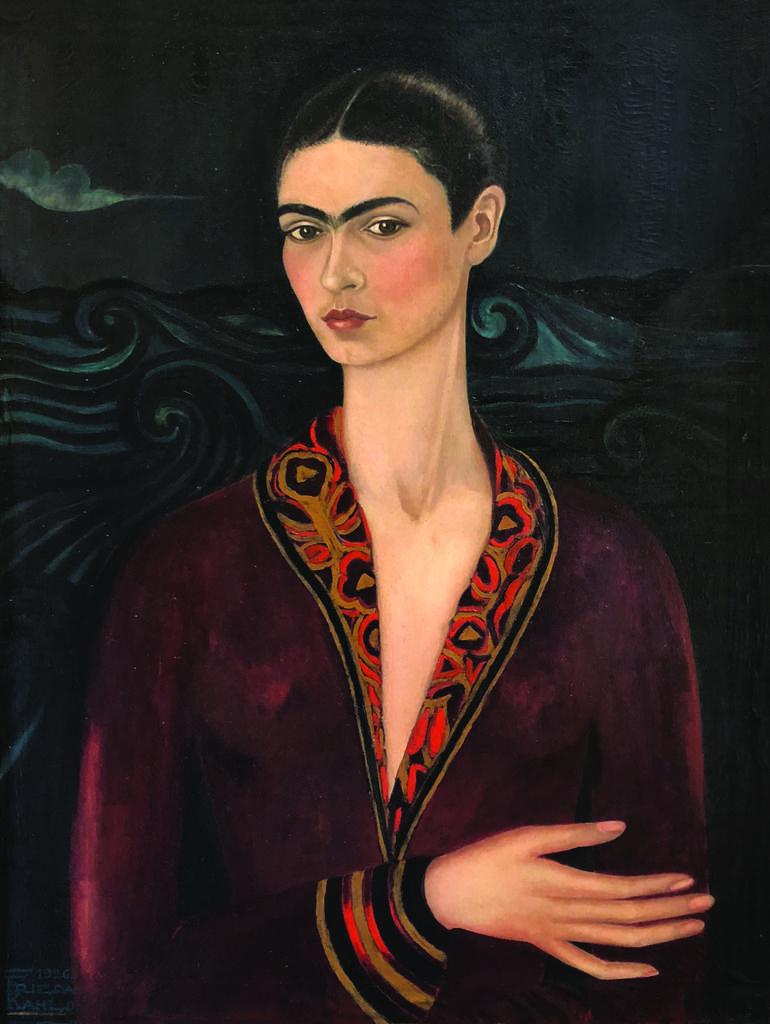 Autorretrato con traje de terciopelo, 1926 Galeria Enrique Guerrero