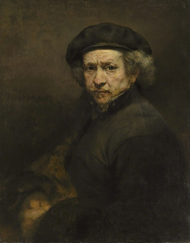 Self Portrait, 1659, 1659 National Gallery of Art, Washington D.C.