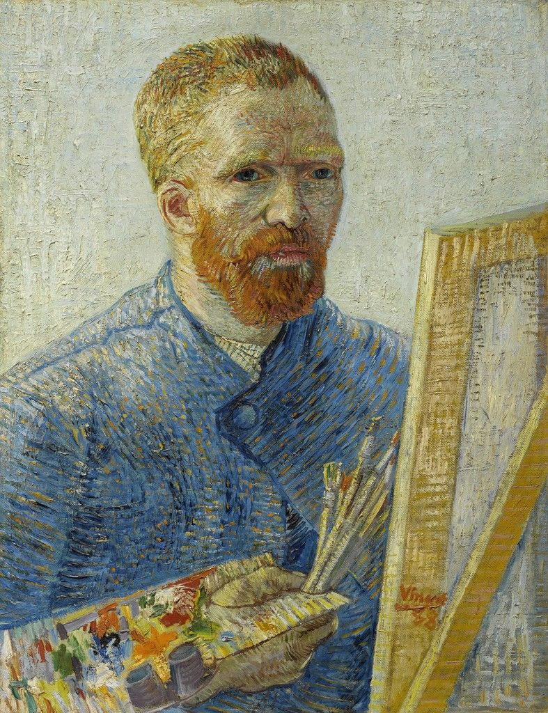Self-Portrait as a Painter, 1887-1888 Van Gogh Museum