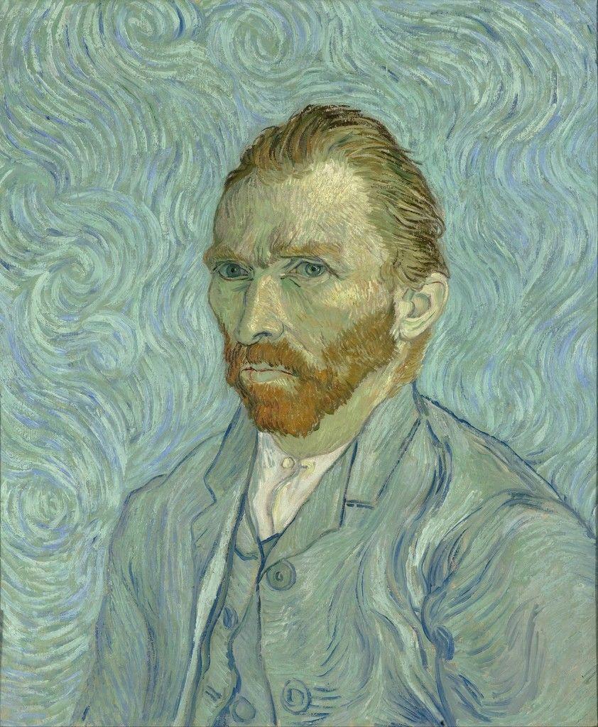 Tranh chân dung tự họa, 1889 Musee d'Orsay, Paris